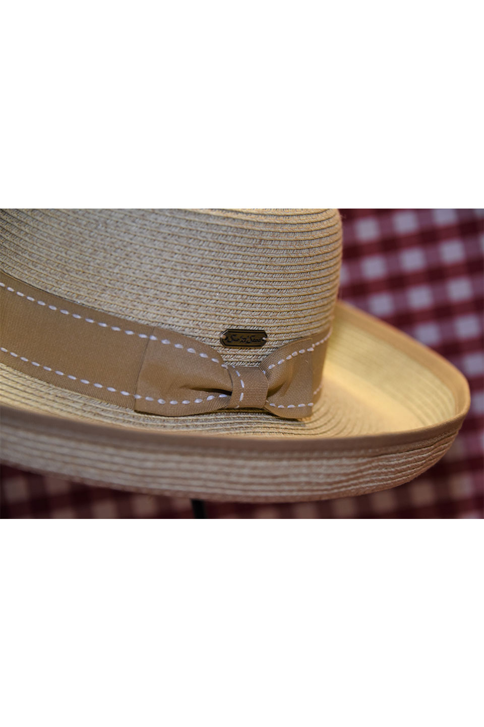 Sun N Sand Hat with Light Tan Ribbon