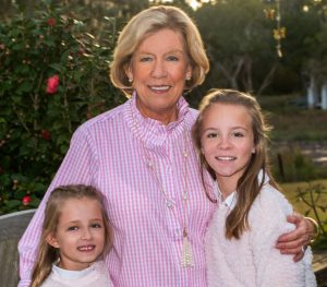 Diane with Granddaughters