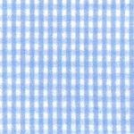 Tiny Blue and White Check