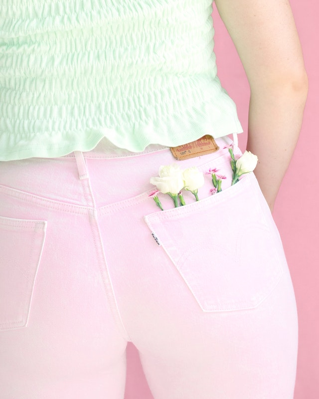 pants with rear pockets
